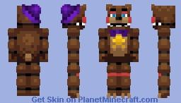 Rockstar Freddy - FFPS Minecraft Skin