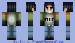 Dragon Ball Super - Android 17 Minecraft Skin
