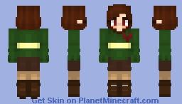 Chara - Undertale Minecraft Skin