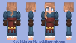 Ellie Undertree Traveler [χ] Minecraft Skin