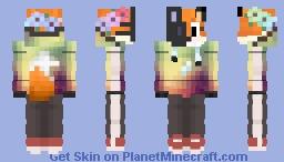 Fox in the Mask v2 Minecraft Skin