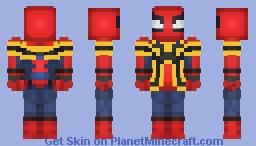 Iron spider homecoming Minecraft Skin