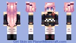 [Kari] Gyakushinn Miko Minecraft Skin