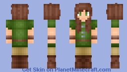 Medieval Girl | Flameow's Skin Minecraft Skin