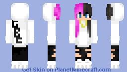 Goth Boi Clique girl skin Minecraft Skin