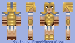 Greek Hoplite Minecraft Skin