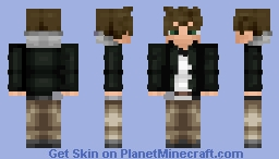 Green [Pokemon FireRed/LeafGreen Rival] (Zipped Variant in Description) Diamond if you want more Pokemon skins! Minecraft Skin