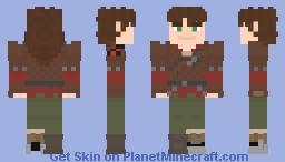 Hiccup Haddock:HTTYD/RTTE Minecraft Skin