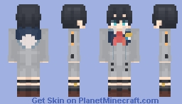 Code: 016 / Hiro - Darling in the Franxx [DITF] Minecraft Skin
