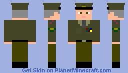 U.S. Army General 1957 Minecraft Skin