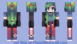 heads of roses Minecraft Skin