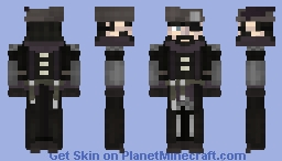 Witch Hunter Minecraft Skin
