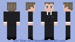 James Bond {Daniel Craig} Minecraft Skin