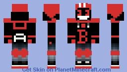 creppy bendy teenager Minecraft Skin