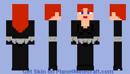 MARVEL Comics: Black Widow Minecraft Skin