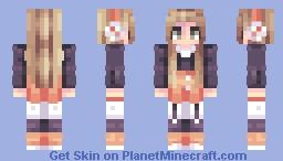 bubble tea // Momu's Reshade Contest Minecraft Skin