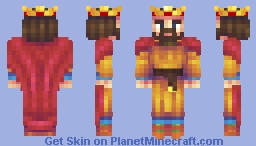 1215 English King (Collab with DragonsDungeon) Minecraft Skin