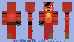 Rockstar Foxy Minecraft Skin