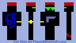 Black guy Minecraft Skin
