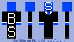Official Blue Skittle Minecraft Skin