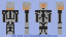 Futuristic General Minecraft Skin