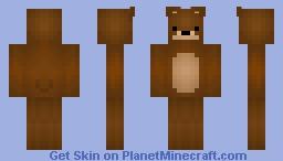 Teddy Bear • Cute VS Creepy Monsters Minecraft Skin