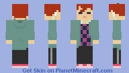 Jamie the Human Minecraft Skin