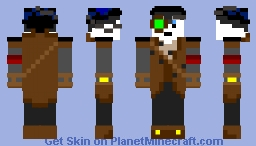 Sky Pirate Dog Minecraft Skin