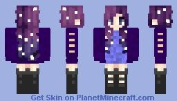 🌌 Pastel Galaxies Skin Contest 🌌 ➡ 🌌 The Galaxy Girl 🌌 Minecraft Skin