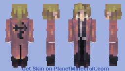 Alphonse Elric (Human) // Fullmetal Alchemist Minecraft Skin