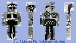 Grey Horror (or Grey Horror Thing) 0_0 Minecraft Skin