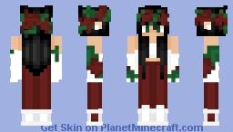 Rose Girl Minecraft Skin