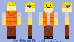 Puffer Fish FisherMan Minecraft Skin