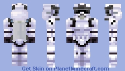 Star Wars | Rocket Trooper Minecraft Skin