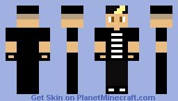 Zayn Malik (1D) Minecraft Skin