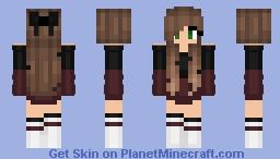 Alpha_Wolf_Luna Minecraft Skin