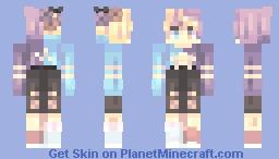 Trading It Minecraft Skin