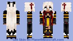 Majin Okita Sōji (Alter)  V2 沖田総司〔オルタ Fate/Grand Order Minecraft Skin