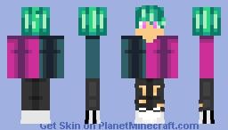 YT speed skin Minecraft Skin