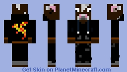 Cow in A Hoodie Minecraft Skin