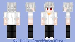 Kaworu Nagisa 渚 カヲル  Evangelion Minecraft Skin