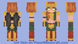 Hawkgirl Minecraft