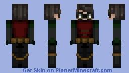 robin - darkness - request Minecraft Skin