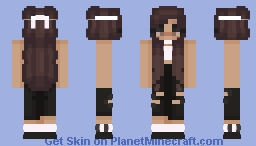 basic egirl Minecraft Skin