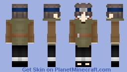 Shinki  Boruto:Naruto Next Generations Minecraft Skin