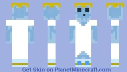 Slime Ice Queen Minecraft Skin