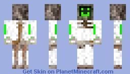 Ржавый робот Minecraft Skin