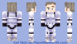 Star Wars | Stormtrooper Luke Minecraft Skin