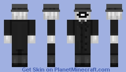 SCP Foundation: The Administrator Minecraft Skin