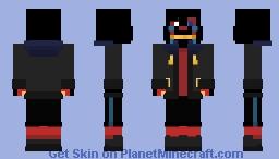 Sans - ErrorTale Minecraft Skin
